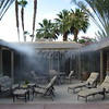 Courtyard Temperatures Drop