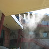 Misting Attached to Awning