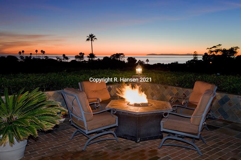 Catalina-San Clemente Island-Fire Pit sunset