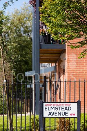 Westside Court and Elmstead Avenue