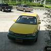 Vår Taxiförare åkte fast för oskattad bil, här vantar vi på att han ska bli klar inne på polisstation
