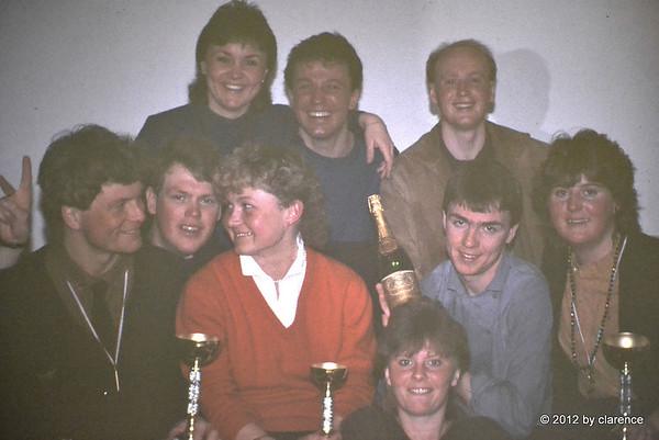 Hela gänget Sauze ITA 1984