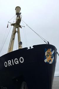 Fartyget Origo - vårt hem för 10 nätter
