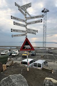 1309 km till Nordpolen!