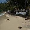 Salad Beach och resturangen som hör till vår resort