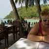 Resturangen på Salad Beach