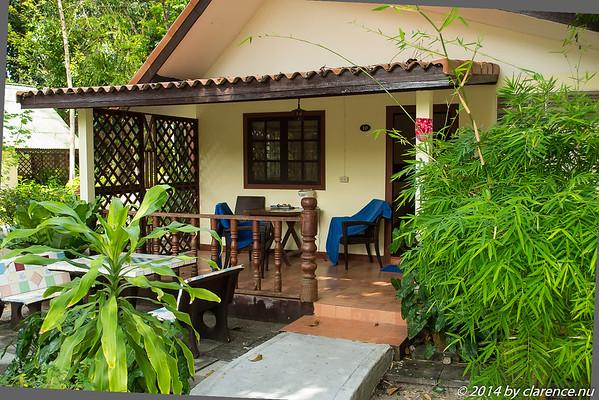 Vår Bungalow på Koh Samui