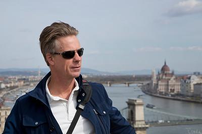 Anders och vy över Donau
