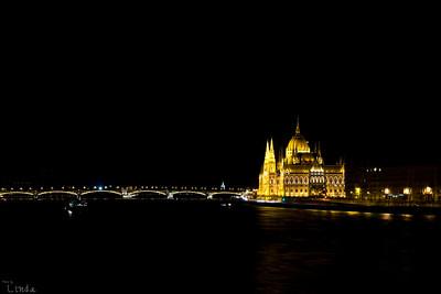 Budapest parlament och Margaretabron