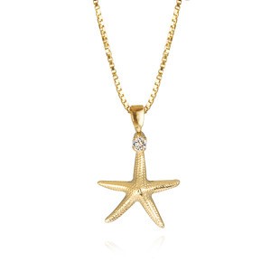 Starfish Necklace / Crystal