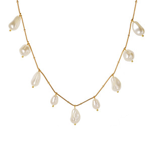 Olympia Necklace/ Pearl
