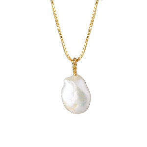 Thea Necklace / Pearl GOLD