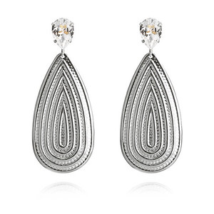 Pelagia Earrings / Crystal Rhodium