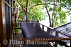 Lakeside deck and hammock, private casita, Jicaro Island Ecolodge, Lake Nicaragua.