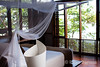 Tree top bedroom, private casita, Jicaro Island Ecolodge, Lake Nicaragua.