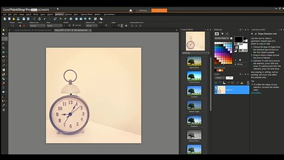 Removing background in Corel PaintShop Pro 2019