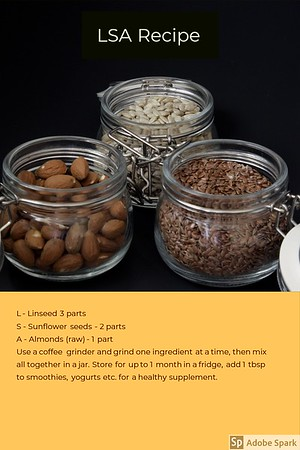 LSA recipe