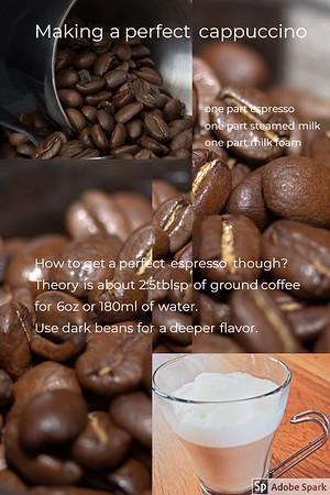 A perfect cappuccino