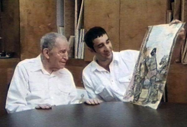 Thomas Menna and FRancis