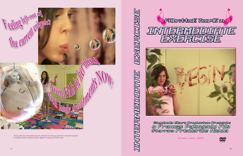 Intermediate Exercise DVD jacket.