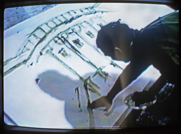 White Shit House. Color 5 min 30 1989.   /   Capitol Shit. Color 3 min. 1990.