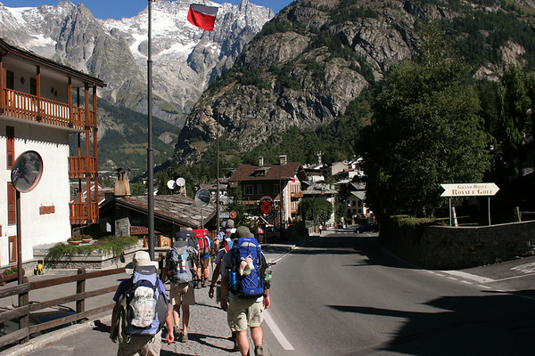 TMB 2 - Courmayeur to Les Contamines