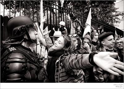 Prix de la photographie politique 2018, mention spéciale du jury, Sciences Po. Galerie Vu', juin 2018.