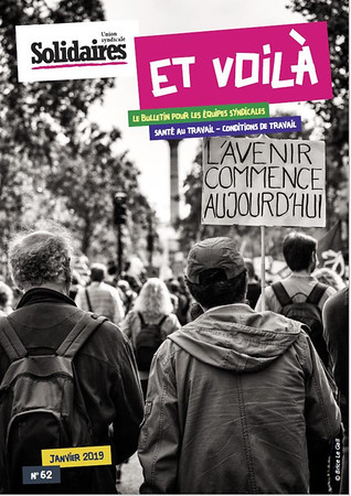 Union Syndicale Solidaires, n°62, janvier 2019.
