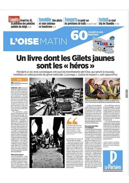 Le Parisien, décembre 2019.