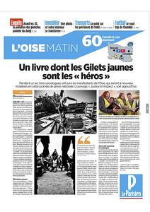 Le Parisien, Décembre 2019. https://www.leparisien.fr/oise-60/un-livre-dont-les-gilets-jaunes-de-l-oise-sont-les-heros-04-12-2019-8209968.php