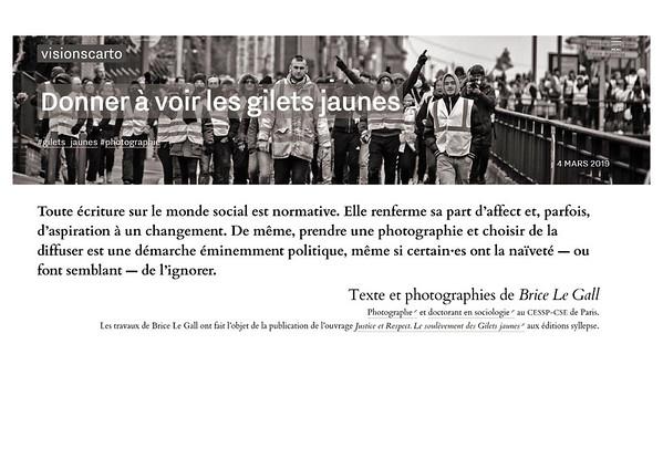"""Donner à voir les Gilets jaunes. Interview pour Visions Carto, mars 2019.<br /> <a href=""""https://visionscarto.net/donner-a-voir-les-gilets-jaunes"""">https://visionscarto.net/donner-a-voir-les-gilets-jaunes</a>"""