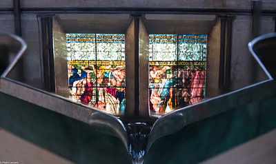 Reflected Stained Glass