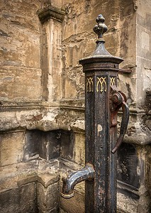 Water pump, St Mary's Passage, Oxford