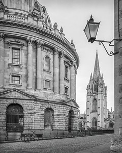 Bodleian Library and University Church, Oxford