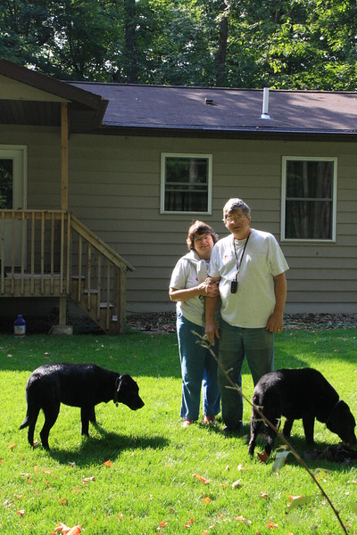 Owners Of The Cabin.  September 6, 2009