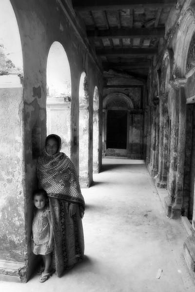 Mother & Daughter, Sonargaon, Bangladesh