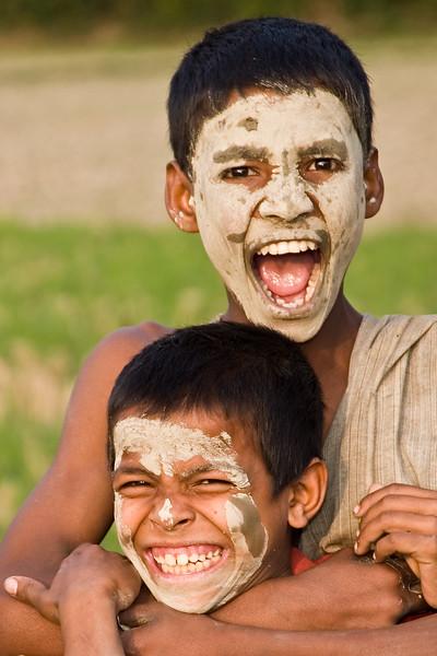 Village Kids, Chittagong, Bangladesh