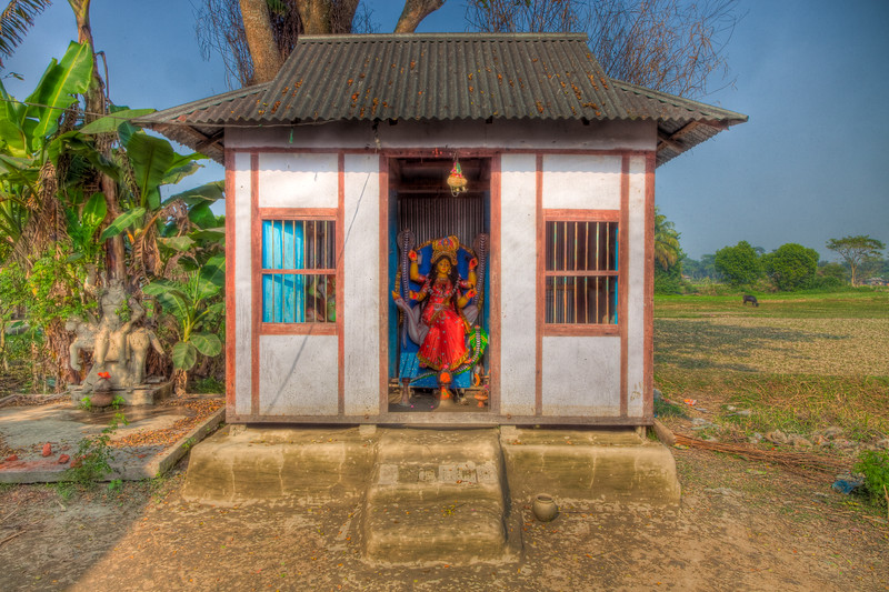 Hindu Shrine, Bikrampur, Bangladesh