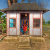 Shrine in a Hindu Village, Bikrampur, Bangladesh