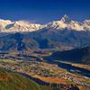 Himalayan Panorama from Sarangkot, Pokhara, Nepal