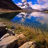 Matterhorn Reflection at Riffelsee, Switzerland
