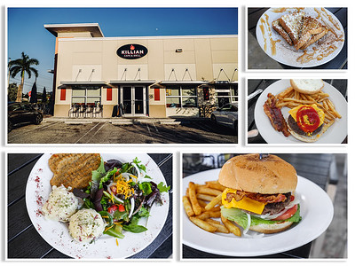 Killian Café & Grill Collage