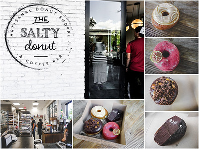 The Salty Donut Collage
