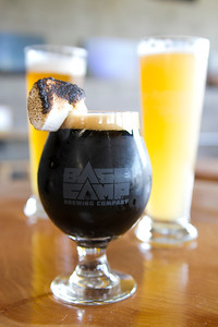 S'More Stout and Lost Meridian Wit at BaseCamp Brewing