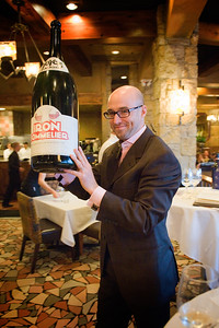 The first annual Iron Sommelier competition at Ya-Ya's brought together the pairing talents of Aaron Forman of Table 6, Aubrey Baker of Del Frisco's, Ryan Fletter of Barolo Grill and Jason Duffy and Scott Hornick of Ya-Ya's. Each of the sommeliers was to select wines to complement chef Aaron Whitcomb's 9 course meal. Results were based on guest appreciation, ultimately placing Aaron Forman as the winner.