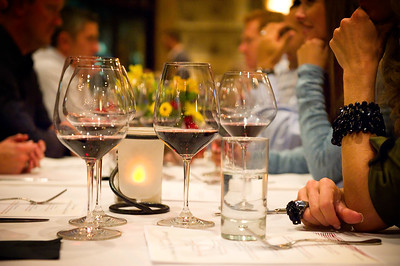 """Wines from Around the World"" wine dinner at Ya Ya's with Scott Thomas"