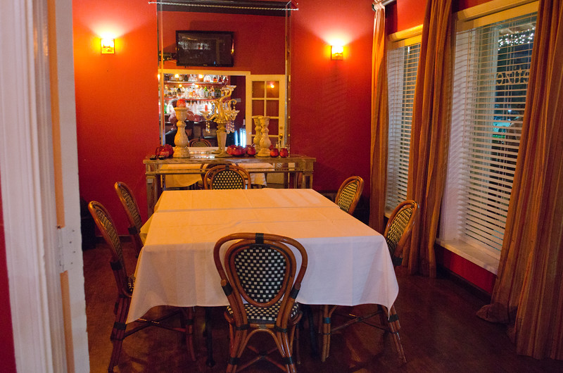 Private room at Caruso Ristorante