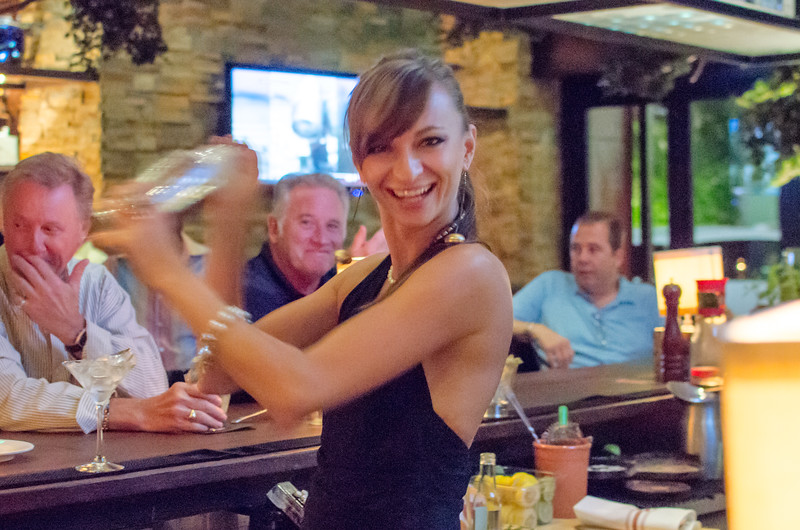 "Evgeniya, one of the many talented bartenders at Tanzy,  is making a Martini for one of their guests.    Photos from Tanzy Artisanal Italian in Boca Raton. <a href=""https://www.facebook.com/TanzyBocaRaton"" rel=""nofollow"">Follow Tanzy on Facebook</a> and <a href=""http://www.tanzyrestaurant.com/boca/menusparmabar.aspx"" rel=""nofollow"">Check out the website</a> 301 Plaza Real Boca Raton, FL 33432  Tel: 561-922-6699  <a href=""http://www.chaughphoto.com/Restaurants-Night-Clubs-and/Tanzy/23732180_x4hdBr"" rel=""nofollow"">www.chaughphoto.com/Restaurants-Night-Clubs-and/Tanzy/237...</a>"