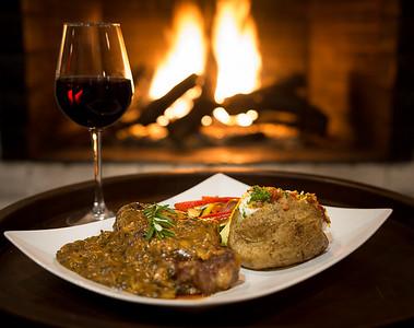 Steak By The Fire