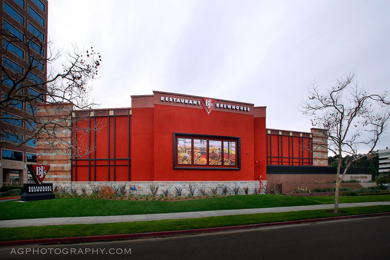 BJ's Restaurants, Mission Valley CA, 1/17/14.
